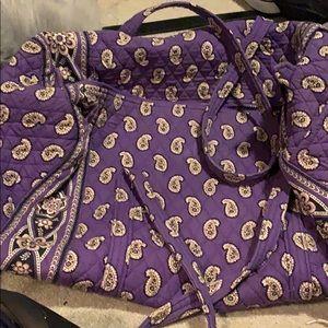 Large Vera Bradley duffle bag